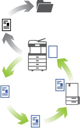 Toshiba ECO&HYBRID sistem e-STUDIO