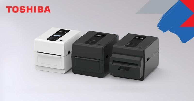 Namizni tiskalniki nalepk Toshiba serije BV400D